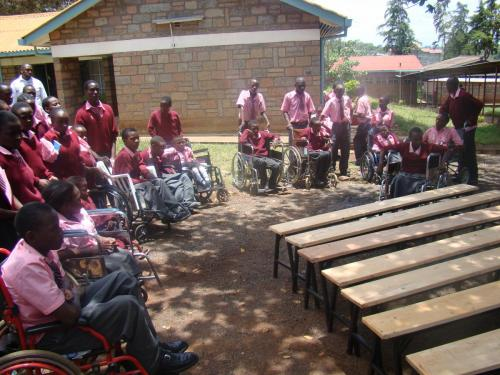 IQSK donates desks and builds a classroom at Joytown Primary School in Thika